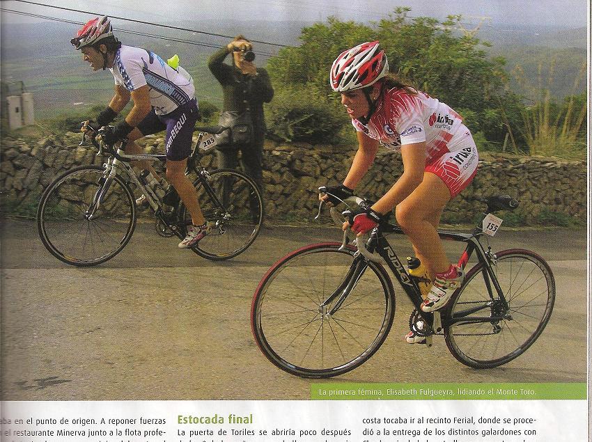 Ciclismo en ruta diciembre 2008